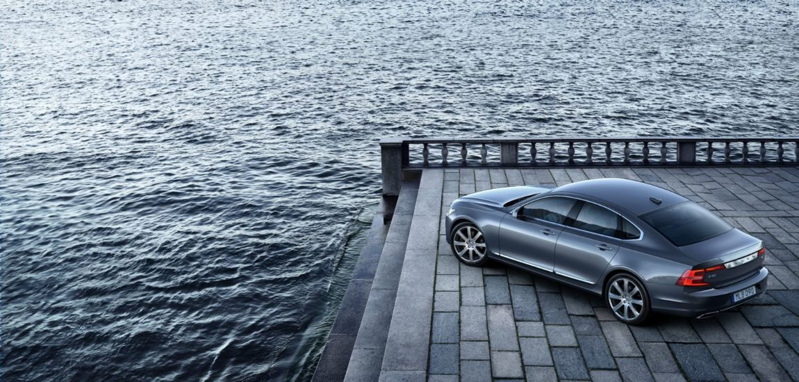 Volvo's S90 T8 R-Design puts you in the lap of performance luxury