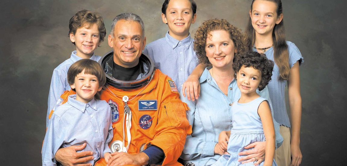 Astronaut Danny Olivas launches 'Space for Everyone'