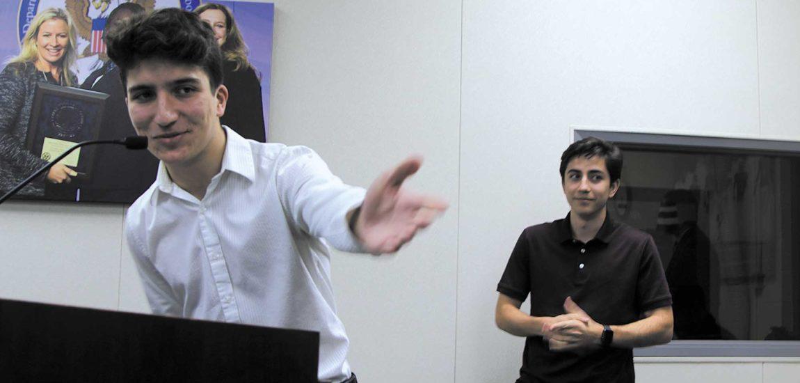 Budding developers win Lieu's contest