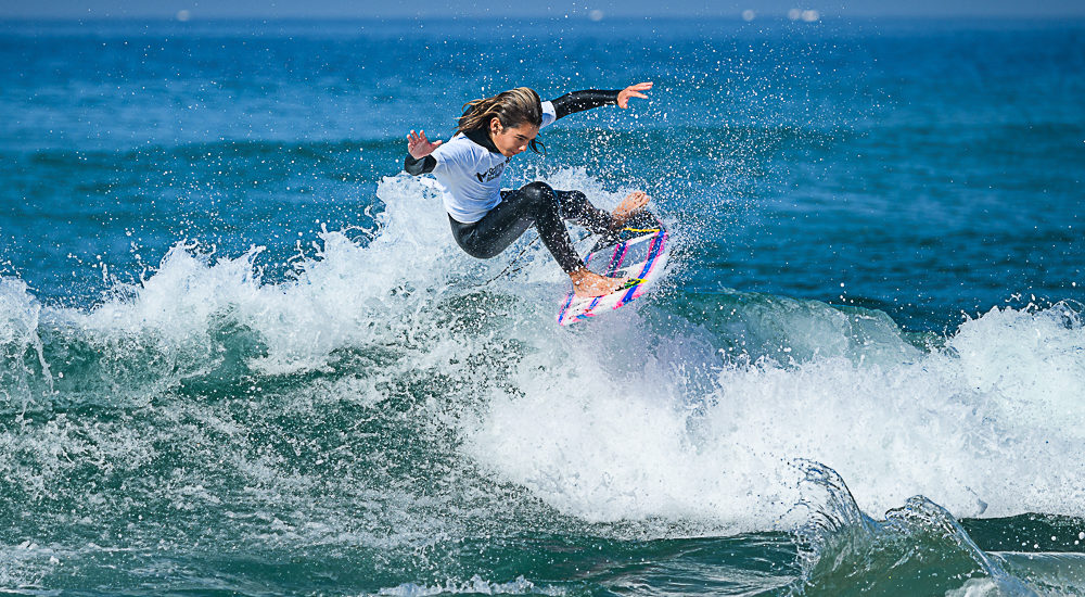 South Bay Boardriders/Jolo Surf Contest in Manhattan Beach challenges locals, takes out club president