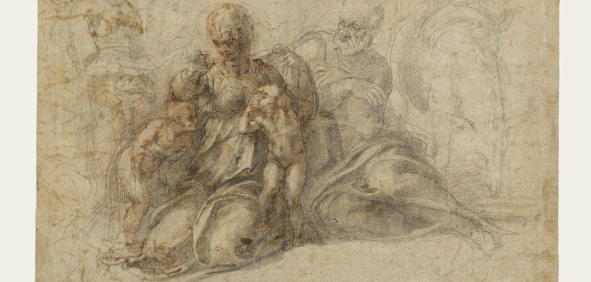 Michelangelo draws us to the Getty