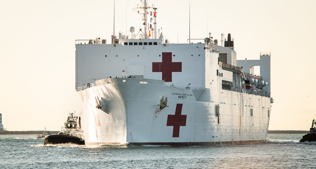 USNS Mercy to care for non COVID-19 patients from area hospitals