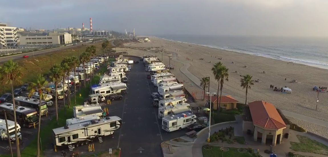 LA County closes Dockweiler RV park for possible use as a COVID-19 quarantine area