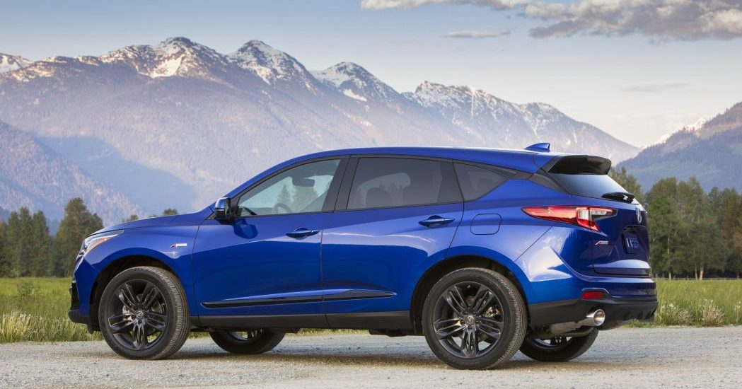 Acura's RDX A-Spec is the smart choice among sporty compact crossovers