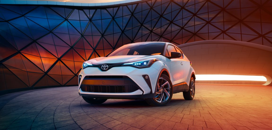 Toyota's C-HR is sweet eye candy for the road