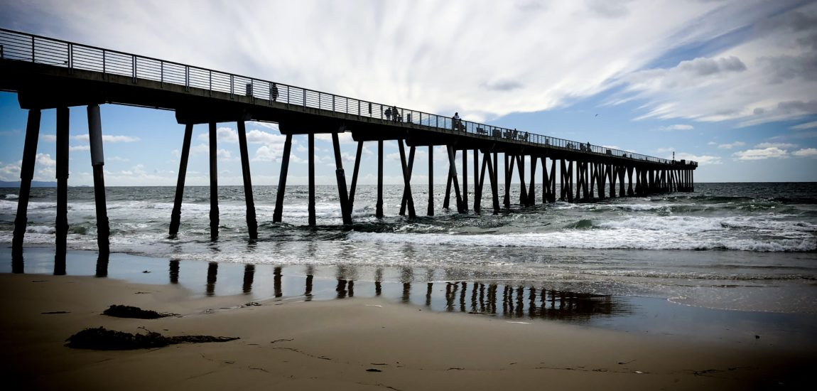 La La Land's favorite pier: Hermosa Beach
