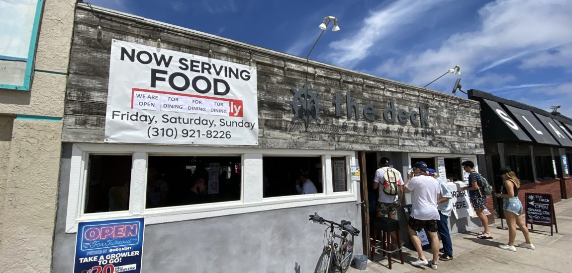 South Bay restaurants have reopened