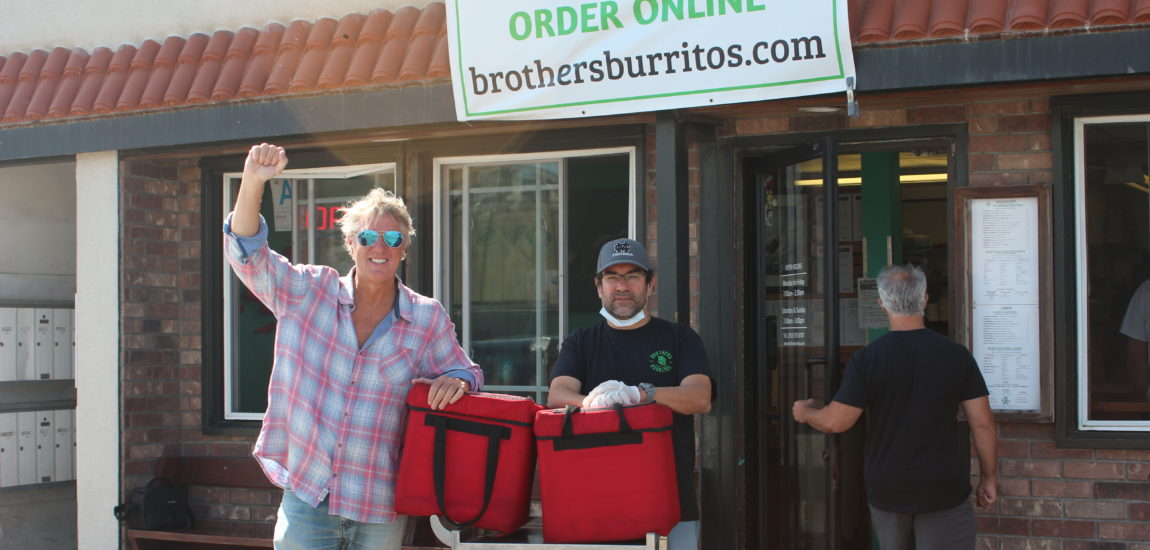 Locals' burrito bowl donation fights hunger of housebound