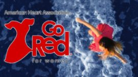 American Heart Association Virtual Go Red is Friday, May 15