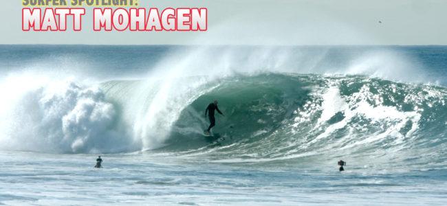 Surfer Spotlight: Chasing Big Barrels With Matt Mohagen