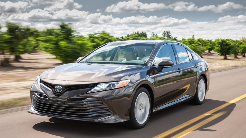 Toyota's Camry Hybrid XLE belongs on the top of your list
