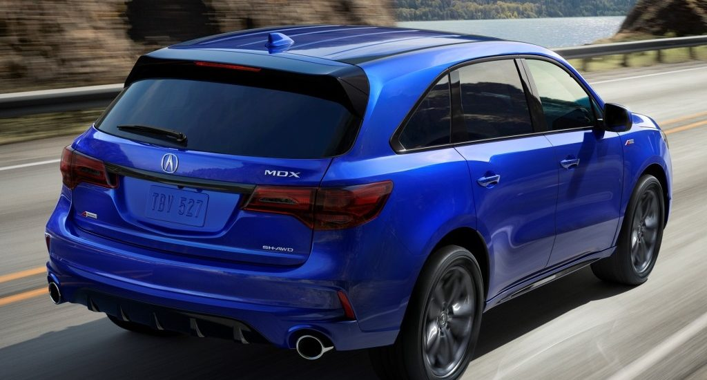 Acura's MDX A-Spec is a study in SUV luxury and performance