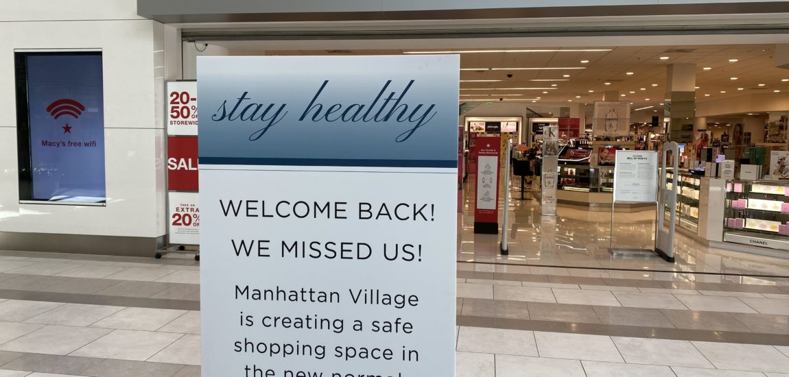 Manhattan Village reopens, but with only 8 stores