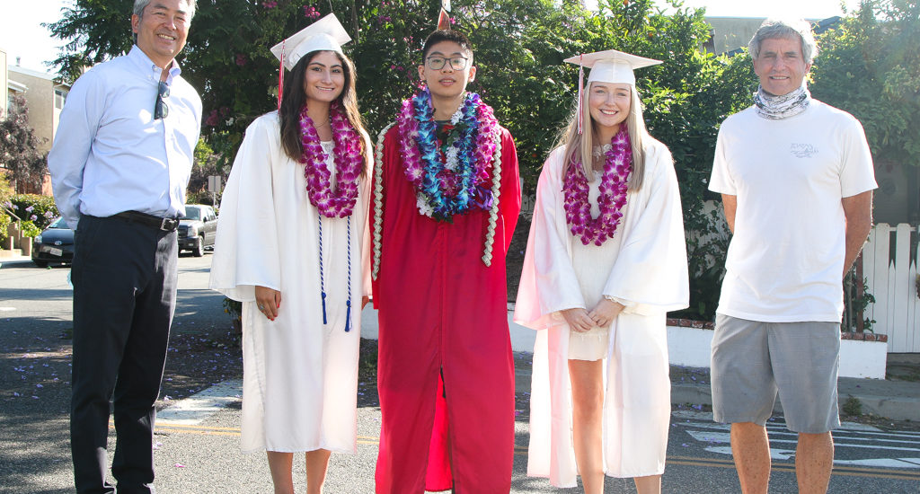 Goodman block party honors Redondo Union High grads