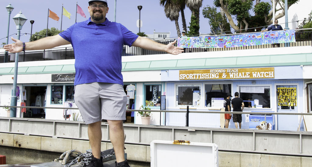 Small gifts bring big returns for Lawndale students, Redondo Beach Sportfishing