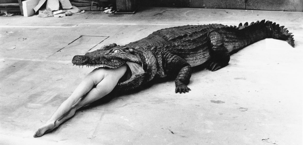 Helmut Newton, as his models knew him