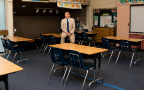 New Hermosa Beach Schools Superintendent Jason Johnson tackles the pandemic