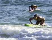 Pandemic stops paddleboard races, but not paddlers