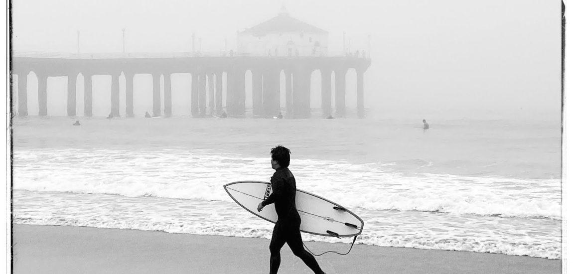 Magic morning surf
