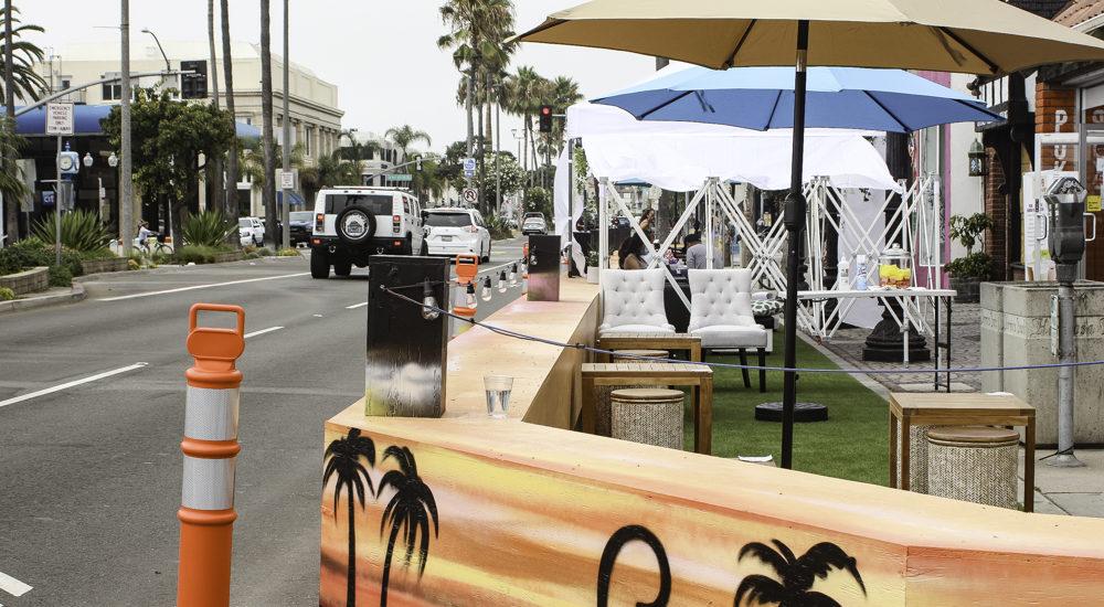Hermosa Beach council trades car lanes for bike lanes, dining decks