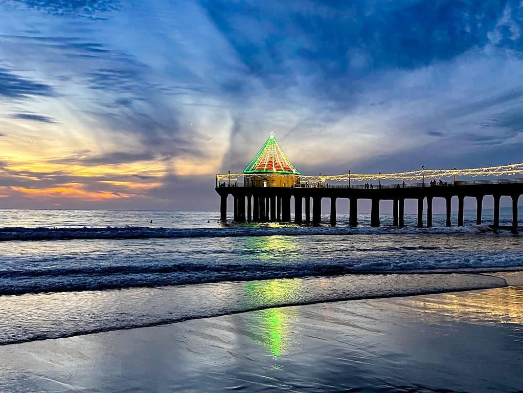 How to shoot a great sunset shot in Manhattan Beach