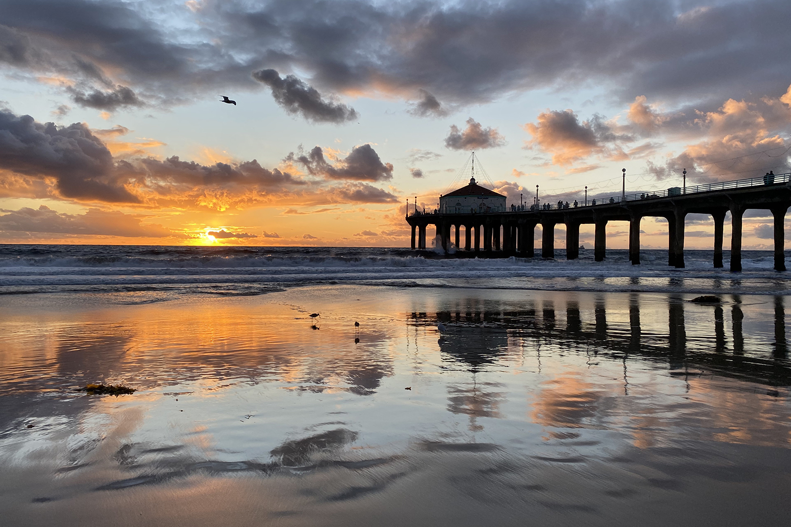 How to photograph a great sunset in Manhattan Beach - Easy Reader News
