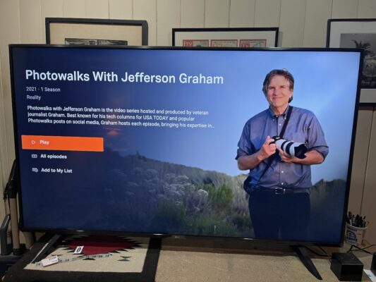 Photowalks with Jefferson Graham
