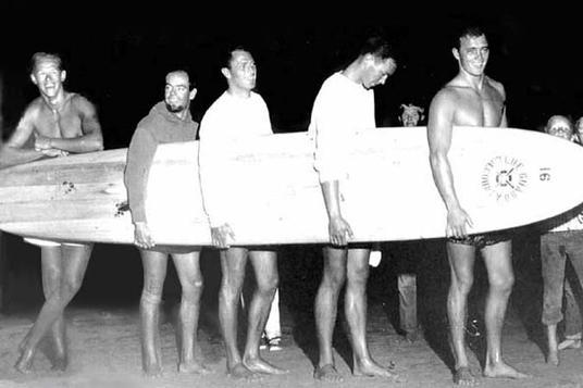 1956 paddleboard race