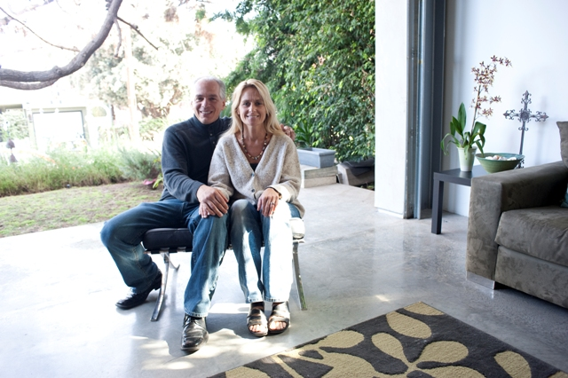 Architect Peter DeMaria and his wife, interior designer Donna Jaskola-DeMaria.