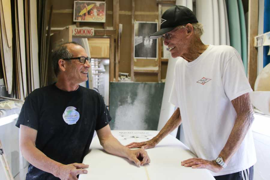 Hap Jacobs, last of Hermosa Beach's Golden Age of Surfing