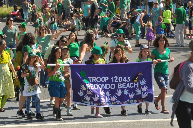 47. Redondo Beach Girl Scout Troop 12045.