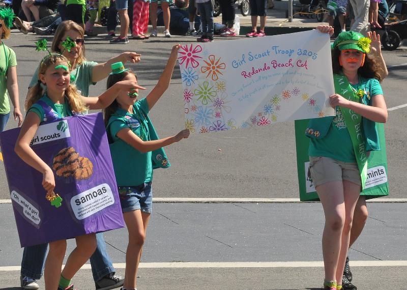 48. Redondo Beach Girl Scout troop 3205