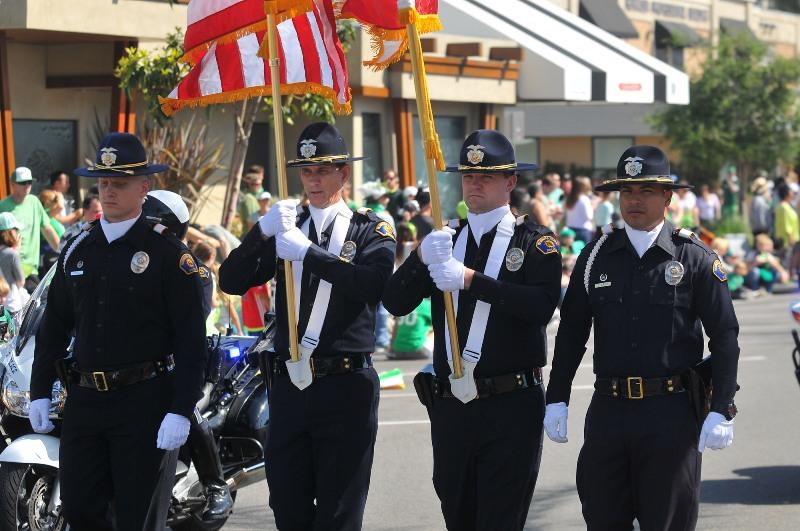 7. Hermosa Beach P.D. Honor Guard