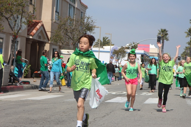 Hermosa Beach St. Patrick's Day Parade.