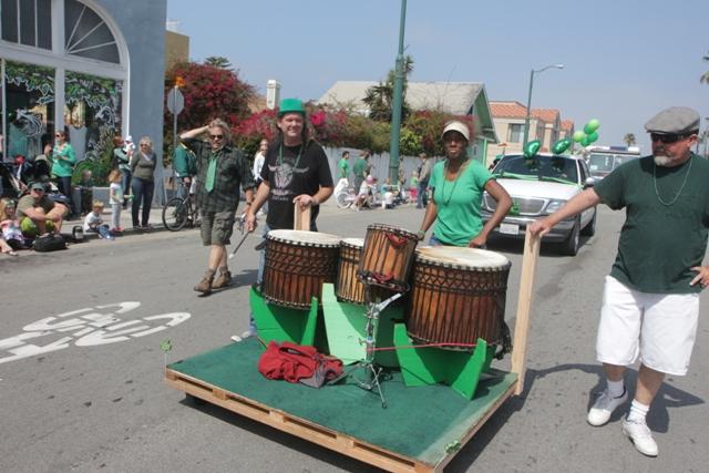 Hermosa Beach St. Patrick's Day Parade.