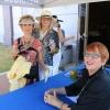 Alice Villalobos, Yvonne Amarillas and Kathy McCurdy.