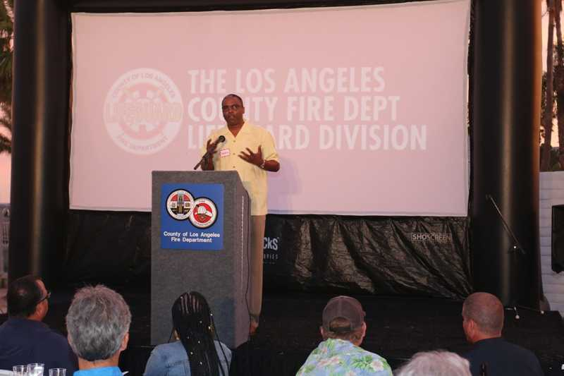 Los Angeles County Fire Department Chief Daryl Osby