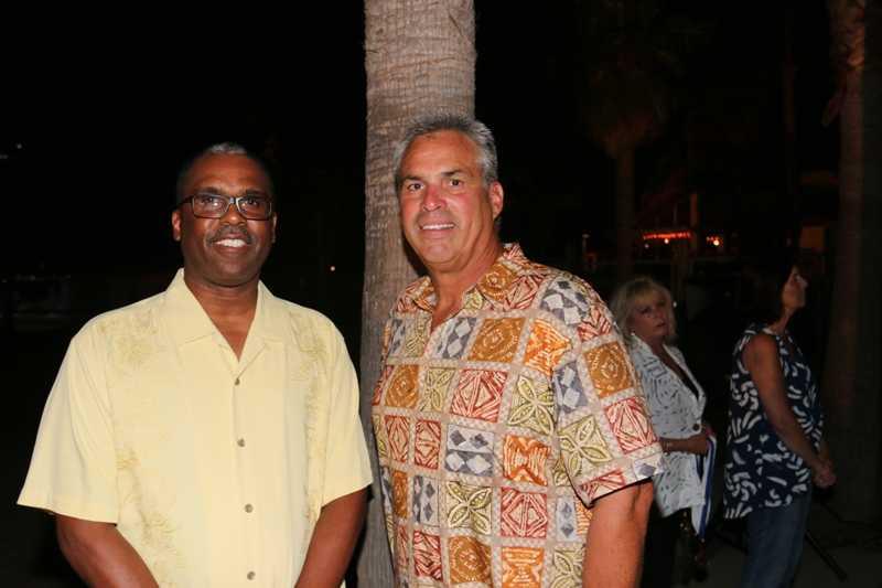 Osby and interim Chief Lifeguard Fernando Boiteux.
