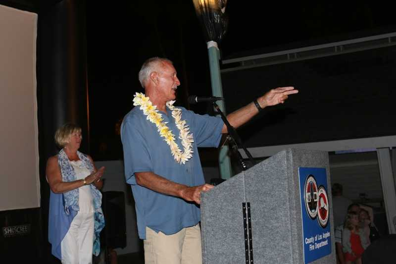 Former Chief Lifeguard Randy DeGregori received the Lifetime Achievement Award.