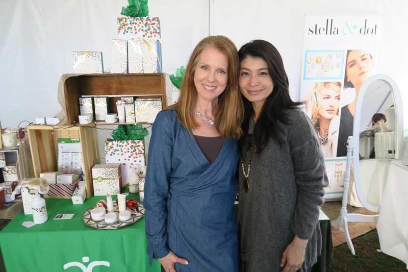 Kandis Wannamaker and Sara Cho.