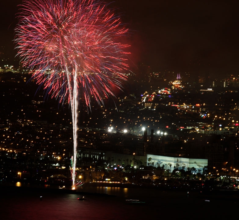 Redondo Beach Hosts Fourth Of July Fireworks Show Decrease Font Size Increase Text Print This Page Send By Email