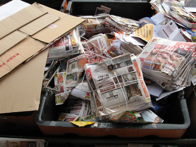 An alleged 2009 bulk mailer trashing.