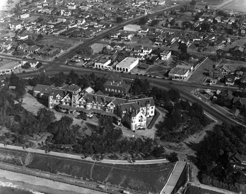 1924 Hotel Redondo aerial