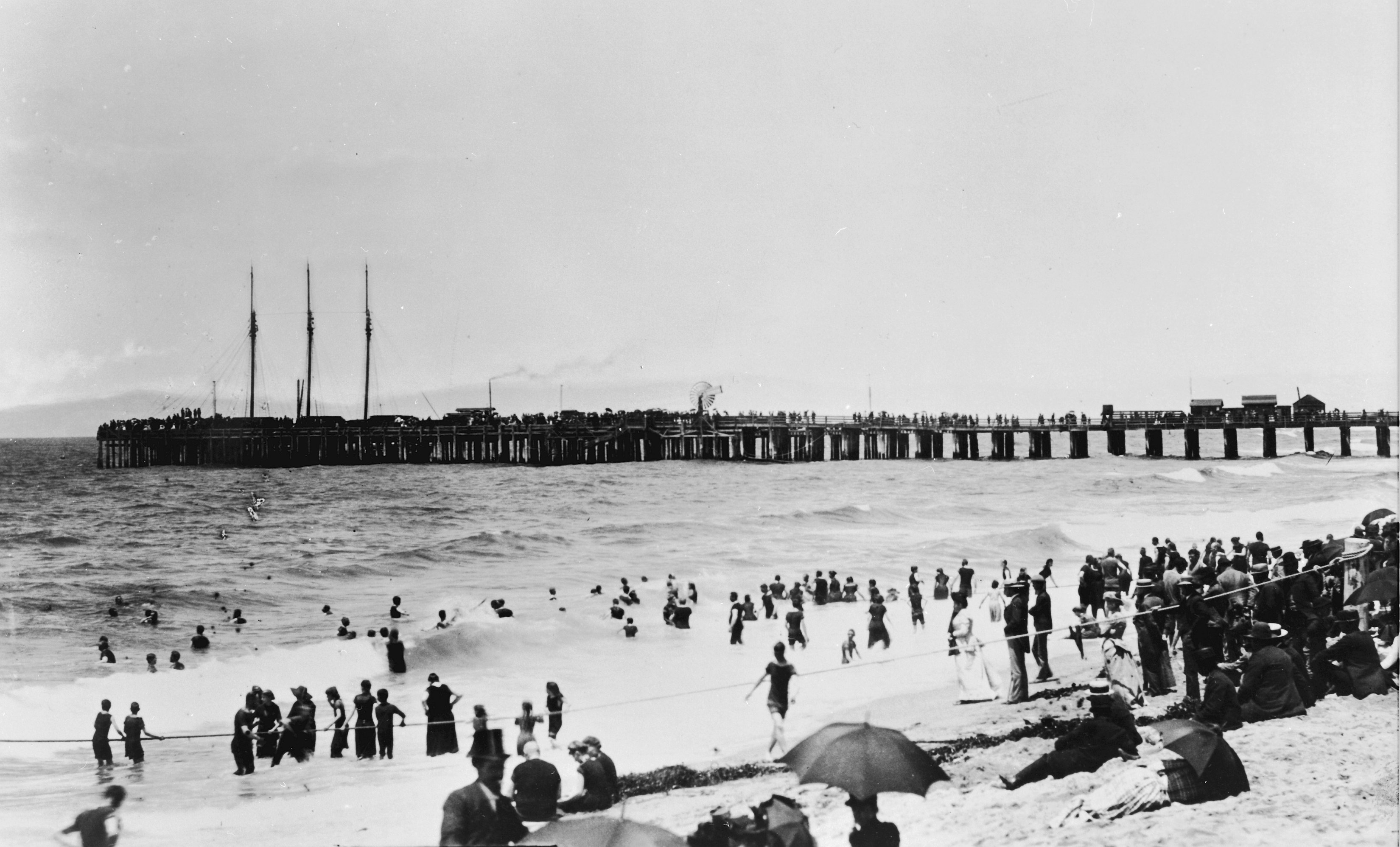 Day at the Beach 1890's
