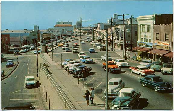 Downtown Redondo 1950's