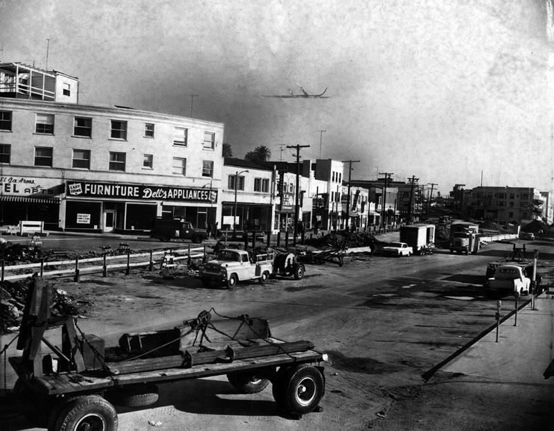 Nov. 1960 downtown