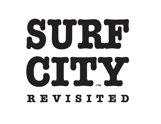 Surf City In Black _ White